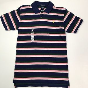 Polo by Ralph Lauren ss Shirt Striped New 16/18